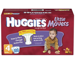 Huggies Little Movers Diapers by Kimberly-Clark