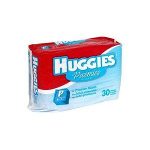 DIAPER,PREEMIE,UP TO 6LBS.,HUGGIES