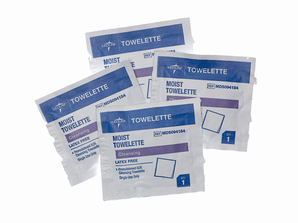 TOWELETTE, CLEANSING, 1000 EA/CS