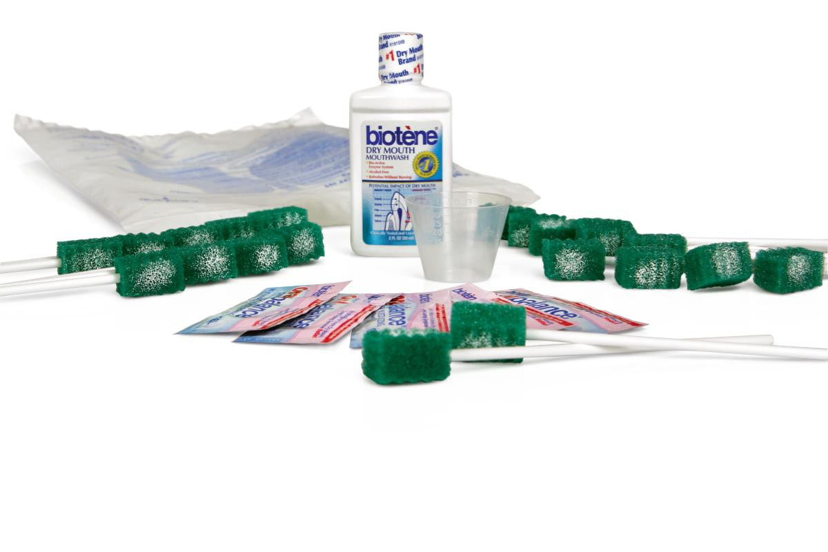 KIT,ORAL CARE,EXTEND,20 SWABS,MWASH,MOIS