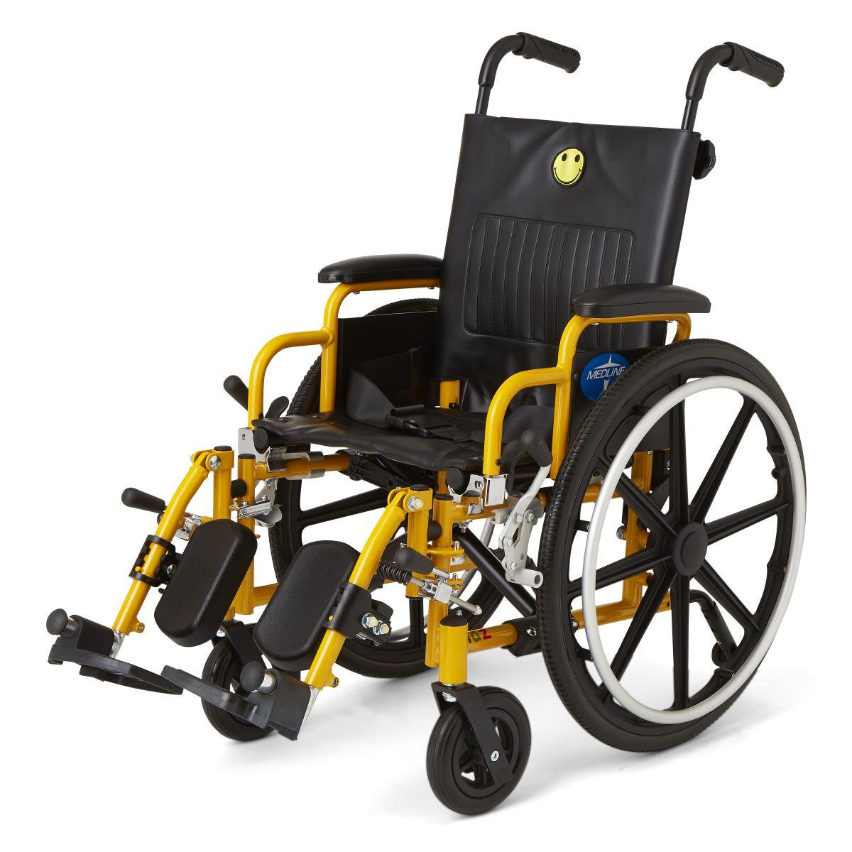 "Kidz Pediatric Wheelchair 14"" (Anti-tippers included)"