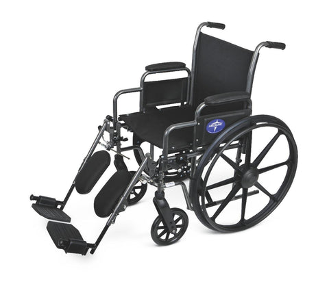 Image of WHEELCHAIR,20IN,K1,BASIC,DLA,ELEV LEG