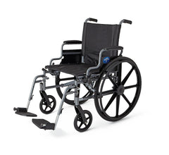 K4 Extra-Wide Lightweight Wheelchairs | Swing Back Desk Arms