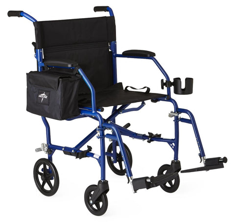 Image of WHEELCHAIR,TRANSPORT,FREEDOM 2,BLUE