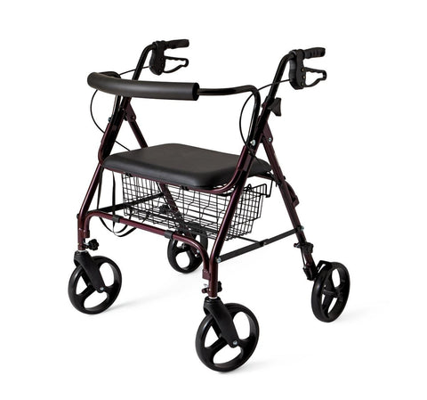 ROLLATOR, X-WIDE,HEAVY DUTY, 400 LBS.