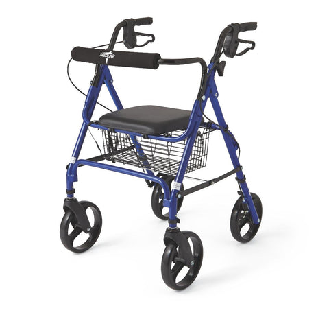 WALKER/ROLLATOR,BLUE,FOLDING