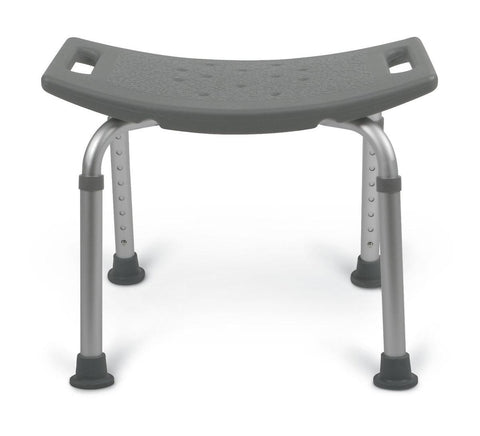 BENCH,BATH,NO BACK,GRAY 250 LB CAP