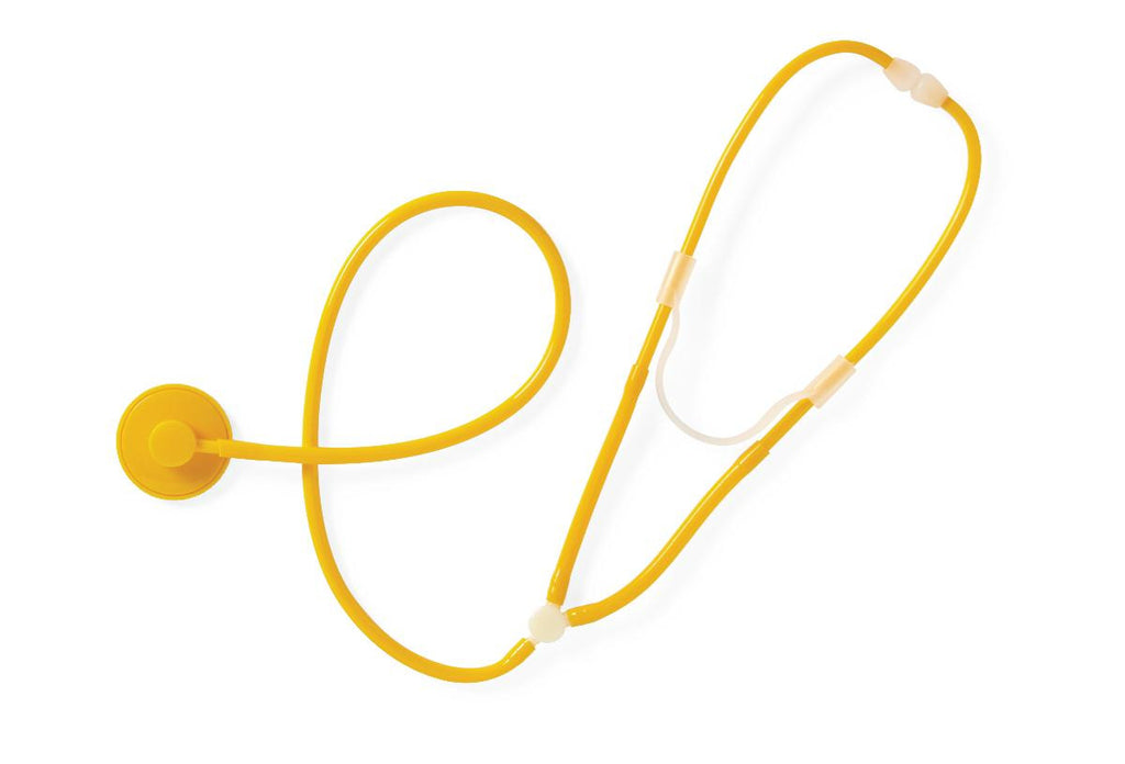 STETHOSCOPE,DISPOSABLE,YELLOW