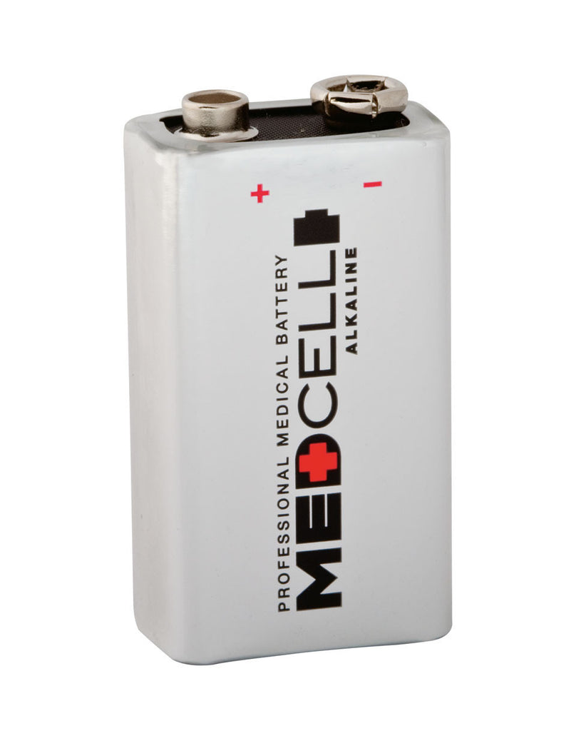 BATTERY, ALKALINE, MEDCELL, 9V
