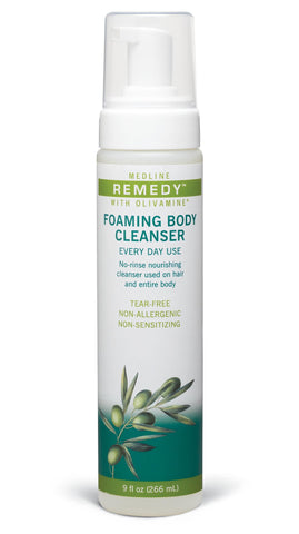 Image of medline remedy foaming body cleanser 9oz