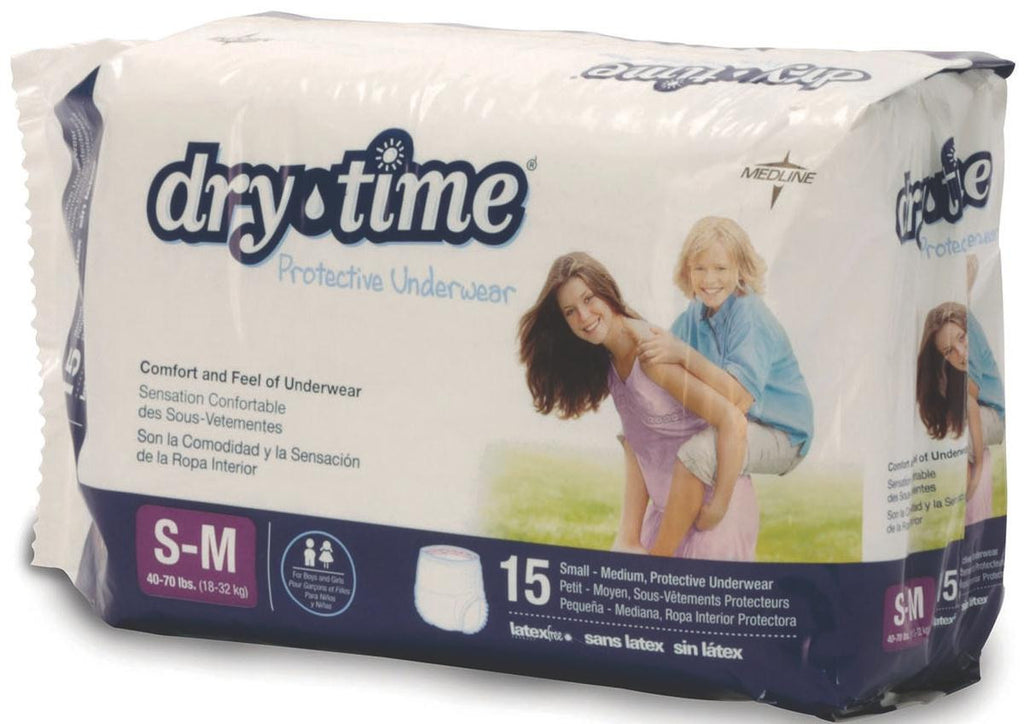 DryTime Disposable Protective Youth Underwear