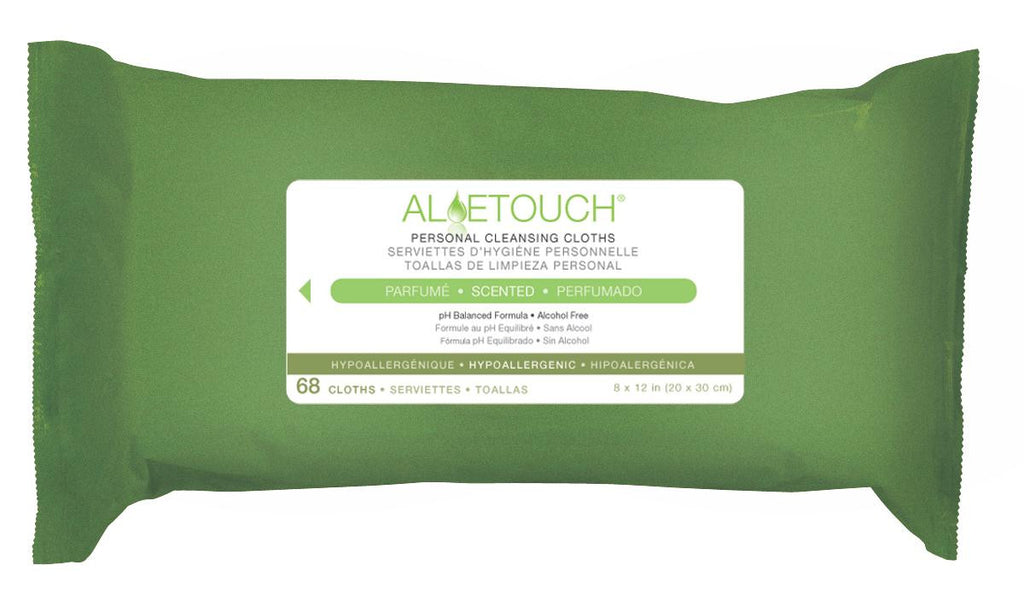 Aloetouch® Personal Cleansing Wipes  | SCENTED