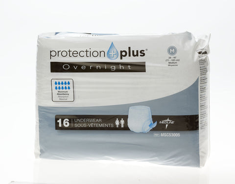 Image of Protection Plus Overnight Protective Underwear