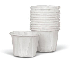 Disposable Paper Souffle Cups .75 OZ (250 Count)
