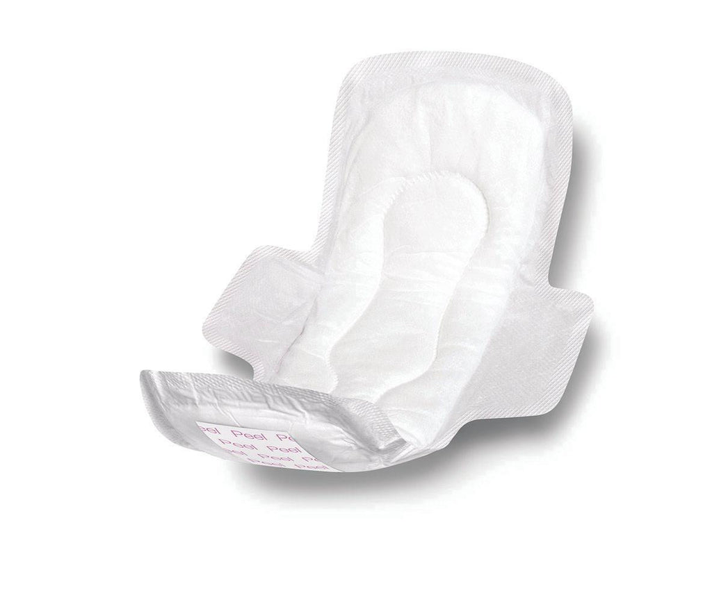 PAD,SANITARY,11 IN,MAXI,W/WINGS,N-STRL