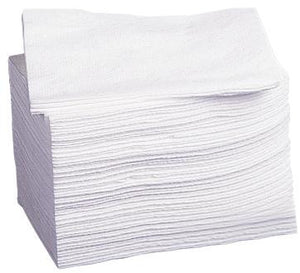 WASHCLOTH,DISPOSABLE,WHITE,10X13""