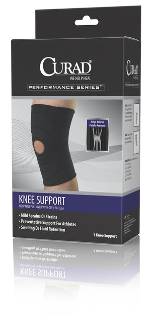 SUPPORT,KNEE,OPEN PATELLA,RETAIL,LG,