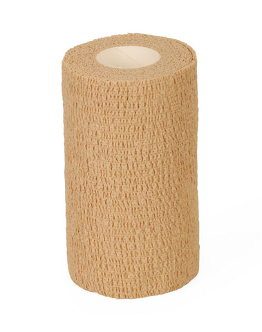 "Image of BANDAGE,COHESIVE,CARING,TAN,4""X5YD,NS"