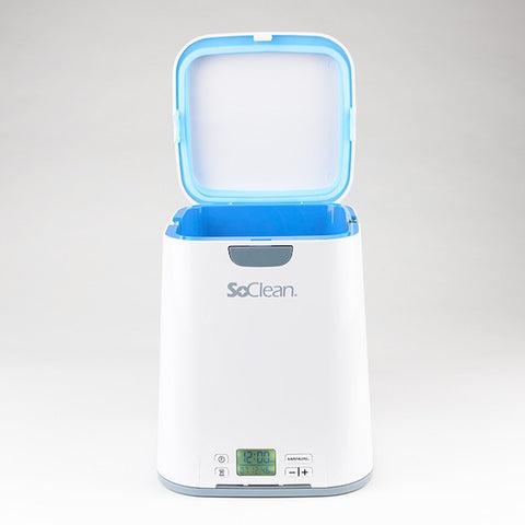 SoClean 2 CPAP Cleaner and Sanitizer open