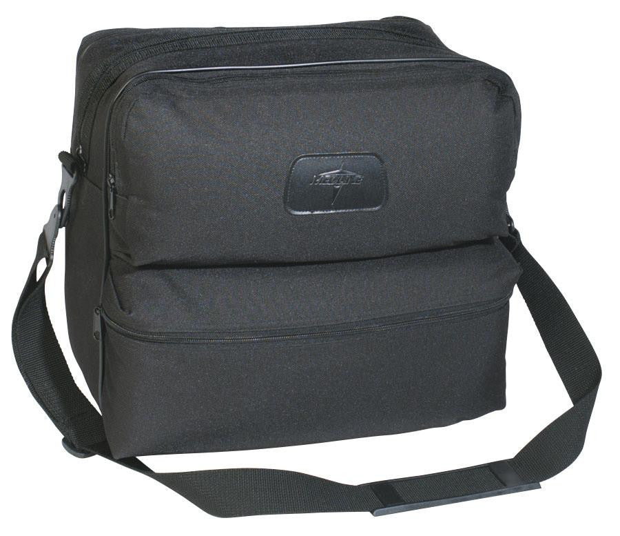 BAG,NURSE,POLYESTER,BLACK,4-POCKET