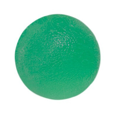 CanDo® Gel Squeeze Ball - Standard Circular - Green - Medium