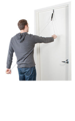 Image of CanDo® Overdoor Shoulder Pulley - Single Pulley with Door Bracket