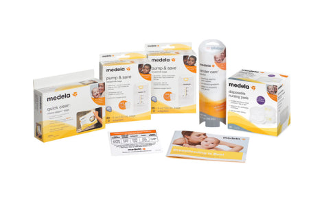 Image of Medela Breast Pump Accessory Starter Kit
