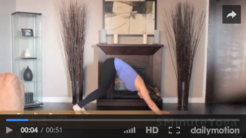 Beginner Flow Yoga Pose