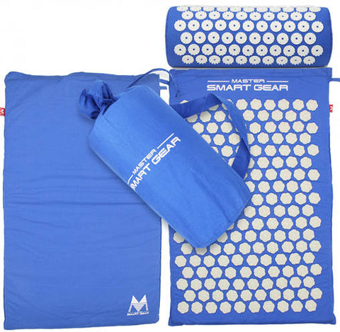 Yoga Acupressure Mat and Pillow Set