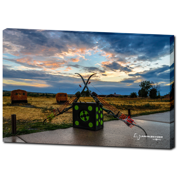 Duel at Dawn - Premium Canvas Gallery Wrap