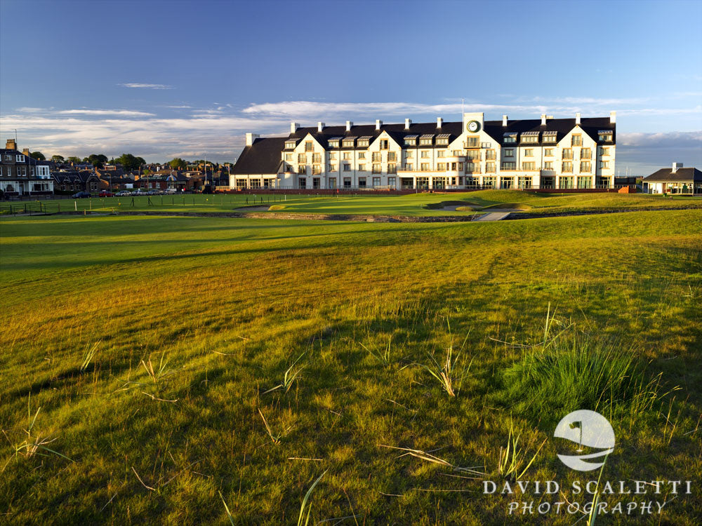 A testing finish at Carnoustie Golf Club, Scotland.