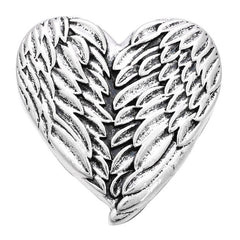 Angel Wing Heart Snap