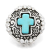Image of cross snap essential oil snap the oily amulet aromatherapy jewelry