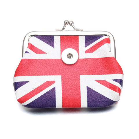 Union Jack Snap Coin Purse