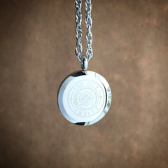 Sun Weaver Exclusive Design No.8 - Stainless Steel Diffuser Necklace