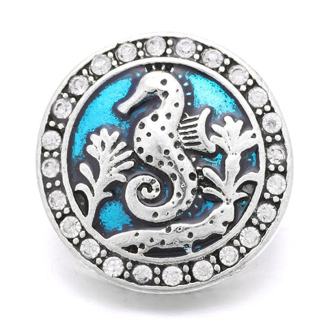 seahorse beach water snap essential oil snap the oily amulet aromatherapy jewelry