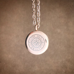 Sun Weaver Exclusive Design No.8 - Rose Gold Stainless Steel Diffuser Necklace