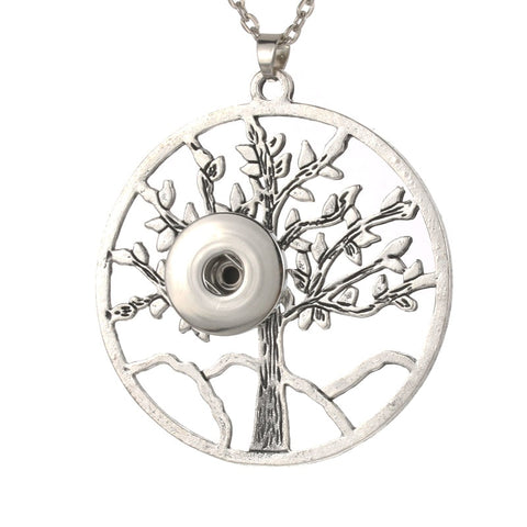 essential oil snap necklace family tree tree of life ginger snap snap jewelry essential oil jewelry the oily amulet