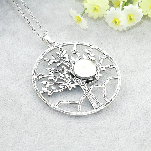The Family Tree Snap Necklace