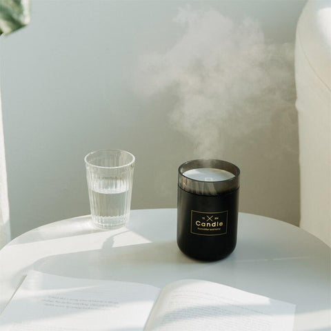 candle essential oil diffuser USB humidifier essential oil lamp