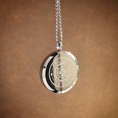Divine Lotus Exclusive Design No.7 - Stainless Steel Diffuser Necklace