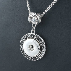 Antiqued Bohemian Necklace