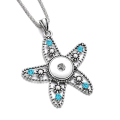 The Starfish Statement Snap Necklace