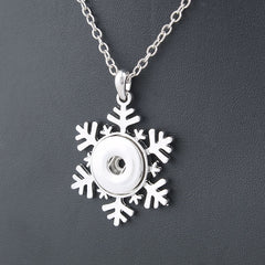 snowflake snap essential oil snap the oily amulet aromatherapy jewelry