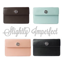 "The ""Slightly Imperfect"" Essential Oil Carryall Leather Handbag + BONUS ITEMS"