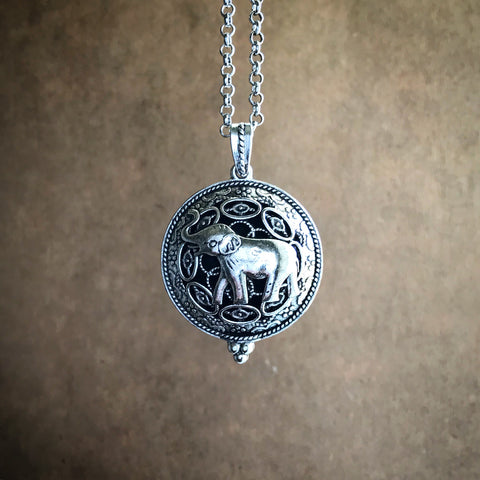 The Sage Elephant Diffuser Necklace
