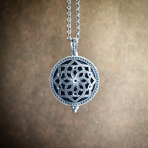 The Yantra Diffuser Necklace