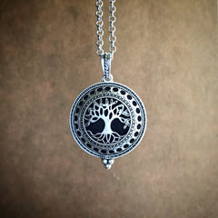 The Family Tree Diffuser Necklace