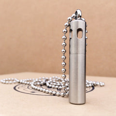 "Unisex ""Whistle"" Style - Stainless Steel Diffuser Necklace"