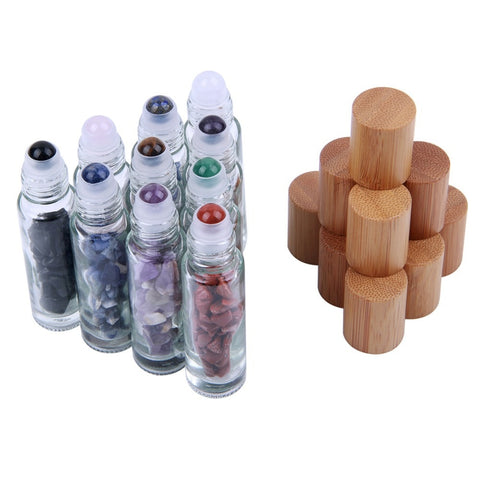 essential oil roller bottle chakra bamboo 10ml the oily amulet aromatherapy young living doterra